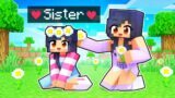 My Little SISTER Joined Our Minecraft Server!