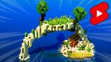 OCEAN ISLAND in Minecraft [Timelapse]