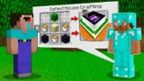 ONLY PRO KNOWS HOW TO CRAFT a SAFEST HOUSE IN MINECRAFT!