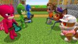 PAW PATROL.EXE vs PJ MASKS in Minecraft – Coffin Meme