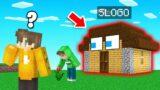 Playing Hide & Seek AS ACTUAL BUILDINGS!? (Minecraft)