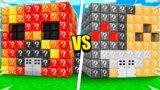 Preston vs Bionic LUCKY BLOCK House Build Battle! – Minecraft