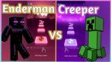Tiles Hop – Minecraft – Enderman Rap VS Minecraft – Creeper Rap (DAN BULL) V Gamer
