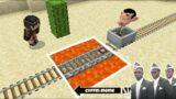 Traps for Mr. Bean Cartoon in Minecraft – Coffin Meme