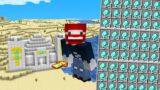 WIR WACHSEN UNENDLICH MIT DIAMANTEN in Minecraft