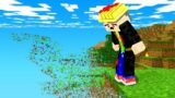 minecraft but chunks disappear every minute