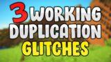3 WORKING EASY DUPLICATION GLITCHES! – BEDROCK 1.16.100  – Minecraft Duplication Glitch