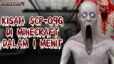 CERITA SCP-096 DI MINECRAFT DALAM WAKTU 1 MENIT! (SCP Foundation Story In Minecraft) #Shorts