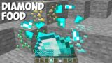 How to cook DIAMOND FOOD in Minecraft ? Most EFFECTIVE DIAMOND FOOD !