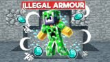 I MADE ILLEGAL CREEPER ARMOUR TO ANNOY CHAPATI