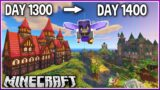I Played Minecraft for 1400 Days.. (1.17 Survival)