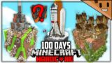 I Survived 100 Days in a BOSS CUBE UNIVERSE in Hardcore Minecraft… Here's What Happened