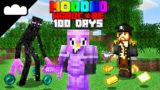 I Survived 100 Days on Modded Hardcore Minecraft And This Is What Happened – Skyes