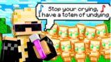 Minecraft but I Get Whatever I Rap…