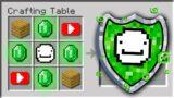 Minecraft if YouTubers were Shields…