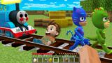 Thomas.EXE vs PJ MASKS in Minecraft – Coffin Meme Paw Patrol  THE TANK ENGINE.EXE