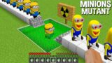 What if YOU CREATE MUTANT MINIONS in Minecraft ? USING A RADIATION LIQUID !