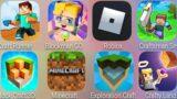 Craft Runner,Minecraft,Exploration Craft,Roblox,Craftsman Smasher.io,Blockman GO,Block Craft 3D