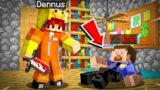 GEHEIME MOORD PLEGEN In De GEVANGENIS! (Minecraft Survival)