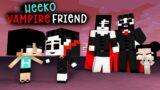 HEEKO AND HIS CUTE VAMPIRE FRIEND – MONSTER SCHOOL – MINECRAFT