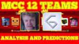 Minecraft Championships 12 News & Teams & MCC 12 Predictions