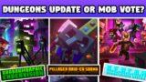 Minecraft Live 1.19 Dungeons Update Or MOB VOTE?