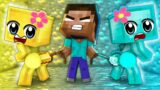 Monster School: Poor Baby Zombie and Love Story – Sad Story – Minecraft Animation