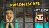 PRISON ESCAPE with BROTHER in MINECRAFT