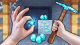 Realistic Minecraft – FIRST DIAMONDS IN MINECRAFT!