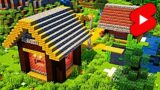 Rural Village in Minecraft: Timelapse #Shorts