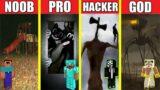 TREVOR HENDERSON SCP HOUSE BUILD CHALLENGE – NOOB vs PRO vs HACKER vs GOD / Minecraft Animation