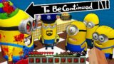 WHAT HAPPENED ON MINION BIRTHDAY with FAMILY MINIONS vs MINION.EXE in Minecraft – Gameplay Movie