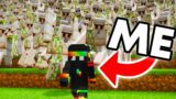 Creating 1000+ Iron Golems To Kill 1 Player in Survival Minecraft
