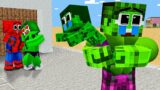 Monster School : Hulk Have A Bad Wife – Sad Story – Minecraft Animation