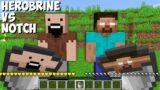 Which MILK is the BEST ? HEROBRINE MILK vs NOTCH MILK in Minecraft !